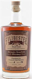 Filibuster Bourbon Dual Cask 750ml
